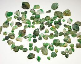 Beautiful Natural color Swat Rough Emerald with Matrix parcel 250 Cts-L-1