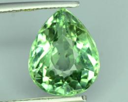 Great Luster 5.20 ct Green Apatite ~ K