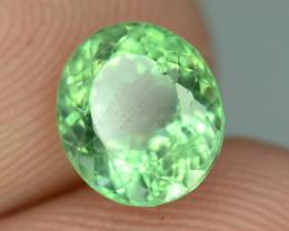 Great Luster 1.20 ct Green Apatite ~ K