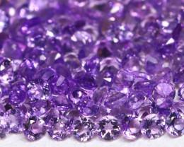 Amethyst 2.87Ct Calibrate 1.5mm Natural Bolivian Purple Amethyst Lot AB3034