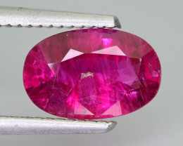 Afghan Rubellite 1.97 ct Saturated Red Color SKU-1