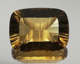 Citrin, 9.3ct from Brazil, perfect cut, perfect clairity and colour! !