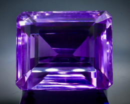 59.17 Crt Natural Amethyst Faceted Gemstone.( AB 47)