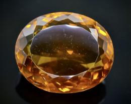 17.14 Crt Natural Conic Quartz Faceted Gemstone.( AB 47)