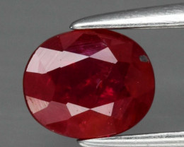 Red Ruby - 0.74cts - Madagascar - Heated only