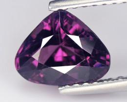 Spinel 1.55 Cts Purple Pink Step cut BGC1063