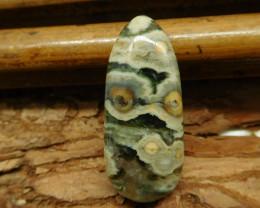 Natural stone ocean jasper cabochon  (G2495)