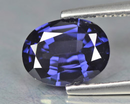 Spinel 1.40 Cts Blue Step cut BGC1181