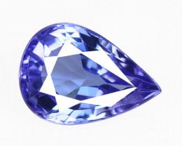 1.02 Cts Amazing rare AA+ Violet Blue Color Natural Tanzanite Gemstone