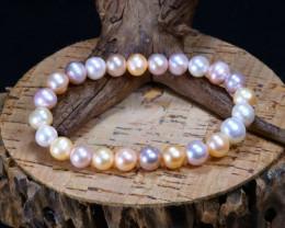 84.00Ct Natural Beads Fresh Water Pearl Bracelet AB3347