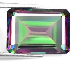 *No Reserve* Mystic Quartz 7.50 Cts Rare Fancy Multicolor Natural