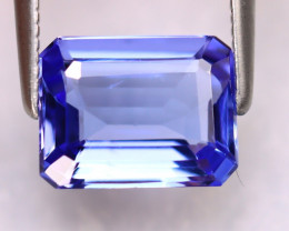 Tanzanite 2.21Ct Natural VVS Purplish Blue Tanzanite DK3003/D4