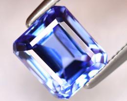 Tanzanite 2.32Ct Natural VVS Purplish Blue Tanzanite DK3014/D4