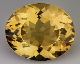 3.76Cts Natural Heliodor Top Quality Gemstone HD2