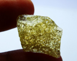 15.80 CTs Natural - Unheated Yellow Opal Rough