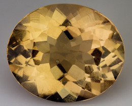 3.91Cts Natural Heliodor Top Quality Gemstone HD6