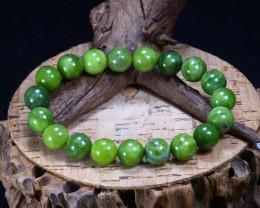 143.40Ct Natural Serpentine Beads Bracelet AB3366