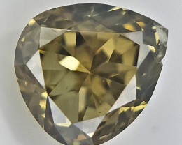 0.10 cts , TearDrop Diamond , Loose Fancy Diamond