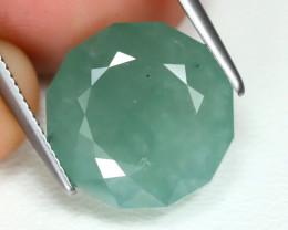 Jadeite Jade 8.88Ct Round Cut Natural Burmese Green Jadeite Jade B3239