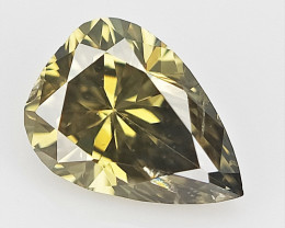 0.11 cts , Pear pendeloque Diamond , Diamond For Jewelry