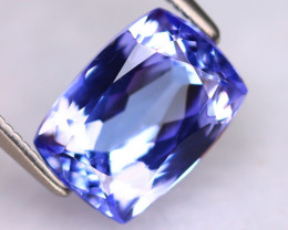 Tanzanite 3.00Ct Natural VVS Purplish Blue Tanzanite DR479/D4
