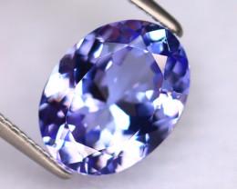 Tanzanite 3.28Ct Natural VVS Purplish Blue Tanzanite DR482/D4