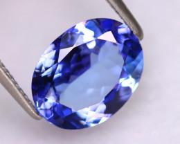 Tanzanite 2.58Ct Natural VVS Purplish Blue Tanzanite DR486/D4