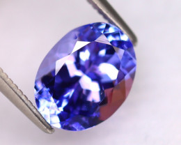Tanzanite 2.64Ct Natural VVS Purplish Blue Tanzanite DR496/D4