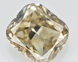 0.11 cts , Cushion Brilliant Cut Diamond, Light Colored DIamond