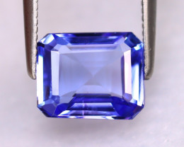 Tanzanite 2.43Ct Natural VVS Purplish Blue Tanzanite DR499/D4