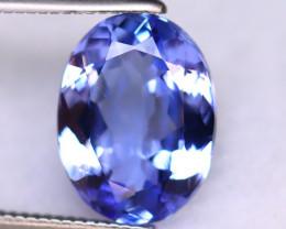 Tanzanite 3.16Ct Natural VVS Purplish Blue Tanzanite DR501/D4