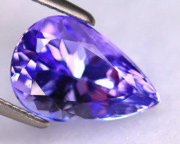 Tanzanite 2.73Ct Natural VVS Purplish Blue Tanzanite DR503/D4