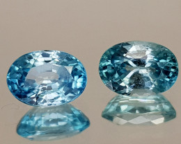 2.81Crt Blue Zircon Natural Gemstones JI29