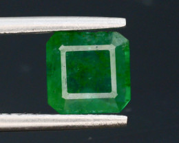 Top Quility 1.40 ct Natural Vivid Green Color Emerald~Swat .t