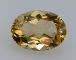 1.15 Ct Natural Heliodor AAA Grade Yellow Color t