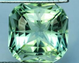 ~CUSTOM CUT~ 8.12 Cts Natural Prasiolite / Amethyst Fancy Cut Brazil