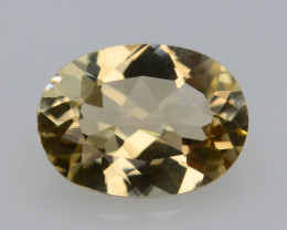 0.90Ct Natural Heliodor AAA Grade Yellow Color t
