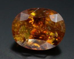 Rare AAA Astonishing Fire 2.05 ct Chrome Sphene