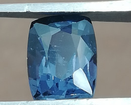 Spinell, 1.34ct, Grey-blueish from Sri Lanka, perfect cut. clean stone!
