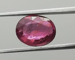 Ruby, 1.21ct, untreated gem, origin Madagascar