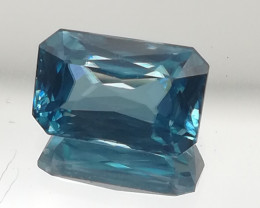 Zircon, 4.65ct, VVS to IF, high quality gem from Cambodia!