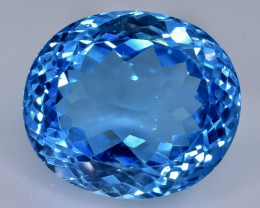 35.74 Crt  Topaz Faceted Gemstone (Rk-22)
