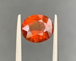 2.06 CT Spessartite Garnet Gemstone