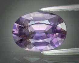 Elegant!!  1.73ct  Unheated Pinkish Purple Sapphire
