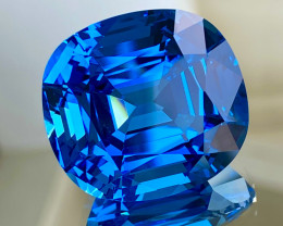 88.57 ct Swiss Blue Topaz Loupe Clean With fine Cutting Gemstone