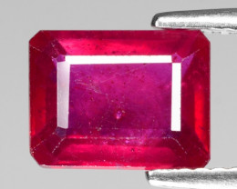 2.67 Cts Fancy Red Natural Ruby Loose Gemstone