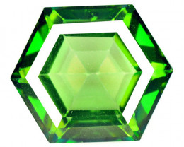 Azotic Topaz 10.88 Carat Green Natural Gemstone