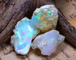 31.25Ct Bright Color Natural Ethiopian Welo Opal Rough B3515