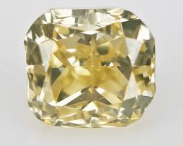 0.13 cts , Cushion Brilliant Cut , Light Colored Diamond
