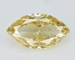 0.10 cts , Fabulous Marquise Brilliant Cut Diamond , Color Diamond